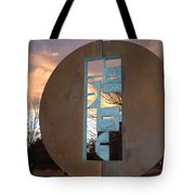 Sunset Thru Art Tote Bag