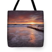 Sunset Tides Tote Bag