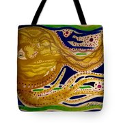 Sunset To Moonset Tote Bag