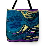 Sunset To Moonset Reversed Tote Bag