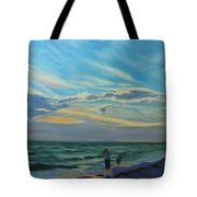Sunset Treasure Hunt Tote Bag