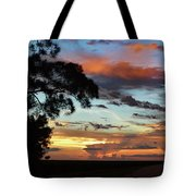 Sunset Tree Florida Tote Bag