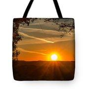 Sunset Vienna West Virginia Tote Bag