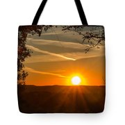 Sunset Vienna West Virginia Tote Bag