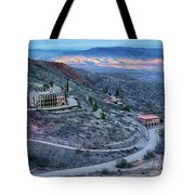 Sunset View From Jerome Arizona Tote Bag