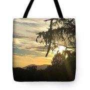 Sunset View From Olana  Tote Bag