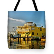 Sunset Villas Hdr Tote Bag