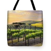 Sunset Vineyard Tote Bag