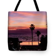 Sunset Walker Tote Bag