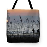 Sunset Watching Tote Bag