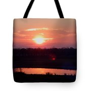 Sunset Waters Tote Bag
