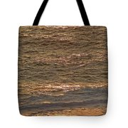 Sunset Waves Over Carmel Beach Tote Bag