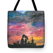 Sunset With You Tote Bag