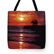 Sunset - Wonder Of Nature Tote Bag