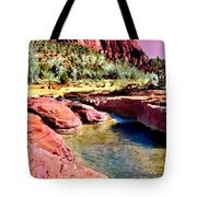 Sunset Zion National Park Tote Bag