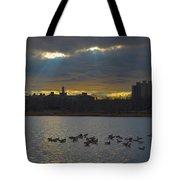 Sunset,lake, Tote Bag