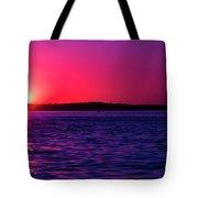 Sunsets Happen Tote Bag