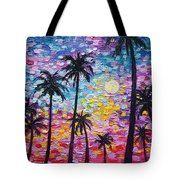Sunsets In Florida Tote Bag