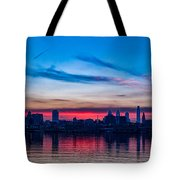 Sunsets Over Philly Tote Bag