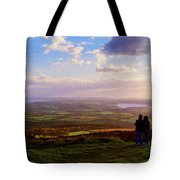 Sunsets Over The Irish Midlands Tote Bag