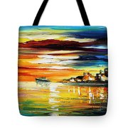 Sunset's Smile Tote Bag