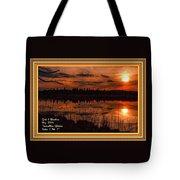 Sunsettia Gloria Catus 1 No. 1 L A. With Decorative Ornate Printed Frame. Tote Bag