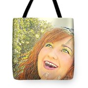 Sunshine And Laughter Tote Bag