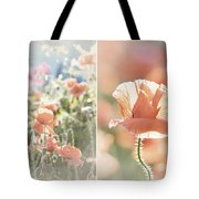 Sunshine And Poppies Tote Bag