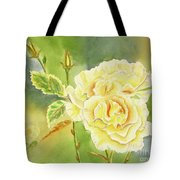 Sunshine And Yellow Roses Tote Bag