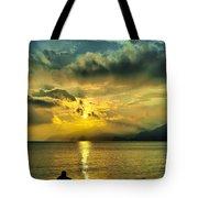 sunshine at Puerto Cabello Tote Bag