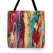 Sunshine Coast Colorful Abstract  Tote Bag