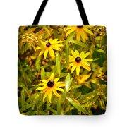 Sunshine Daisies Tote Bag