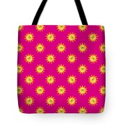 Sunshine Daisy Repeat Tote Bag