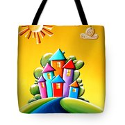 Sunshine Day Tote Bag by Cindy Thornton
