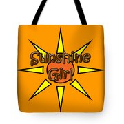 Sunshine Girl Tote Bag