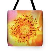 Sunshine - Hybrid Tea Rose - Macro Tote Bag