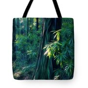 Sunshine In The Forest Tote Bag
