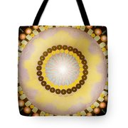Sunshine Mandala Tote Bag