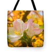 Sunshine On Apple Blossoms Tote Bag