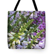 Sunshine On Foxgloves Tote Bag