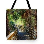 Sunshine On The Boardwalks Tote Bag