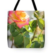 Sunshine Rose Tote Bag