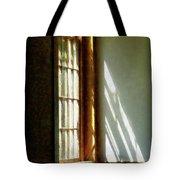 Sunshine Streaming Through Window Tote Bag