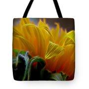 Sunshine Sunflower Petals Two Tote Bag