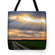 Sunshine Through The Clouds Tote Bag