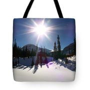 Sunstar Throws Long Shadows Tote Bag