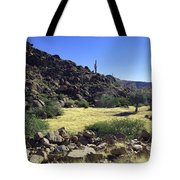 Sunup In Ghost Town Tote Bag