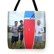 Sup Surfboards Tote Bag
