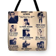 Super Attraction Poster Collection 5 Tote Bag