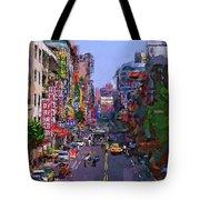 Super Colorful City Tote Bag